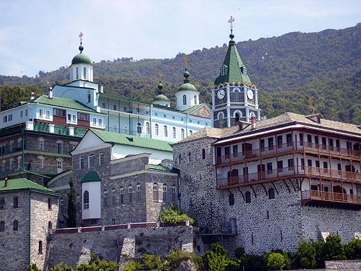 Руският манастир св. пантелеймон